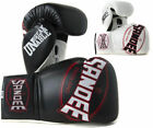 Sandee Cool Tec Lace Up Pro Fight Leather Boxing Gloves