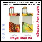100% AUTHENTIC WISMEC LUXOTIC NC DUAL 20700/18650-Same day postage RM24