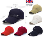 Extra Long Peak Men Women Plain Sport Golf Adjustable Baseball Outdoor Hat