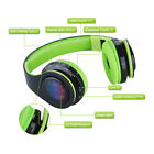 Foldable Wireless Bluetooth STEREO Headphone Headsets Built In FM Mic Kids Gift