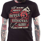 Kustom Kreeps Cheap Tattoo Removal Men's T-Shirt Rockabilly Funny Kulture Punk