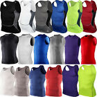 Внешний вид - Men Compression Base Layer Slim Fit Sleeveless Fitness Sport Vest Tank Top Shirt