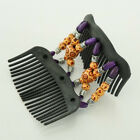 Hair Comb Easy Wood Butterfly Hot Accessories Gift Stretchy Bead Double clip