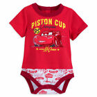 Disney Store Authentic Cars Lightning McQueen Bodysuit for Baby 0 3 6 9 Months