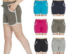 100% Cotton Jersey Shorts Hotpants Womens Holiday Pocket Shorts Plus Size Cheap