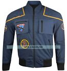 Star Trek Enterprise Jonathan Archer Blue Cotton Jacket, XS to 3XL on eBay
