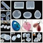 45 Type Silicone Jewelry Pendant Resin Craft Mold Home DIY Earrings Necklace 1pc