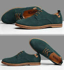 2018 New Suede European style leather Shoes Men's oxfords Casual Multi Size 0018