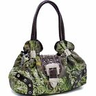 Dasein in Realtree Camouflage Camo Purse Studded Shoulder Bag Handbag with