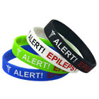 epilepsy color - Epilepsy Epileptic Bracelet Wristband Bangle Medical Alert - Various Colors