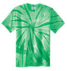 New Men's Tie-Dye Tee Tye Dyed Shirt S M L XL 2XL 3XL 4XL Spiral, Tiger Stipe