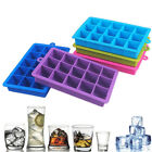 15-Grid Ice Cube Tray Food-Grade Silicone Square Ice Maker Mold Kitchen Mould CN