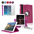 NEW 360 Rotating Folio Stand Smart PU Leather Case Cover For iPad Air 2 2nd Gen