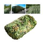 Camouflage Sun Shelter Netting Woodland Jungle Leaves Cover Blinds Trap Military