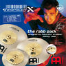 More images of Meinl GX-12 / 16 / 18 Generation X The Rabb Pack Cymbal Set
