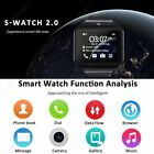 NEW Bluetooth Smart Wrist Watch Phone + Camera SIM Card For Android IOS Phones