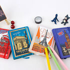 """""""Landmarks"""" 1pc Hard Cover Diary Notebook Lined Freenote Study Travel Journal"""
