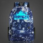 20 L Fortnite Battle Royale Backpack Rucksack School Bag GLOW IN DARK Boys Girls