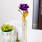 24K Gold Plated Golden Rose Flower Valentine's Day Lovers' Gift Romantic Day AU