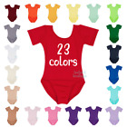 The Leotard Boutique Short Sleeve Leotard for Infants,Toddlers  Girls. USA Made