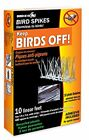 Plastic Bird Spikes, 10 ft