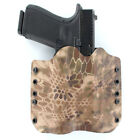 OWB Kydex Holster for 50+ Hanguns with STREAMLIGHT TLR-3 - KRYPTEK HIGHLANDER