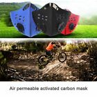 activated carbon face mask - Breathable Activated Carbon Cycling Running Mask Mountain Bike Half Face Mask WS