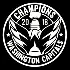 Champions Washington Capitals Car Window Decal Hockey Stanley Cup NHL Sticker $15.99 USD on eBay