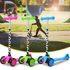 Kids Scooter 3 Wheels Child Toddlers Kick Scooter Glider Adjustable Height