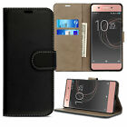Leather Flip Case Wallet Stand Cover For Sony Xperia XZ XA2 L1 Z Premium Phone