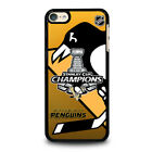 PITTSBURGH PENGUINS 2016 CHAMP For Apple iPod Touch 4 5 6 Phone Case Gen Cover $14.9 USD on eBay
