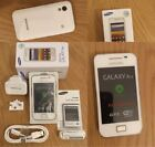 NEW SAMSUNG GALAXY ACE GT-S5830i BLACK - WHITE UNLOCKED MOBILE PHONE