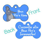 Disney Baloo Jungle Book 2 Sided Pet Id Dog Tag Personalized w Name