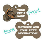 Star Wars Ewok Wicket Double Sided Pet Id Dog Tag Personaliz