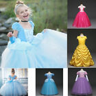 New Kids Disney Princess Costume Girls Cosplay Party Hallowe