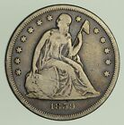 1859-O Seated Liberty Silver Dollar - Circulated  9289