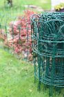 Garden Border Fence Lawn Edging 10m Green Pvc Coated Wire Edge Fencing 3 Sizes