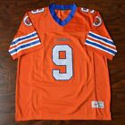 Bobby Boucher #9 Mud Dogs Football Jersey Stitched Orange The Water boy