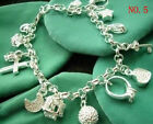 Wholesale New Fashion jewelry 925SILVER Womens Bracelet/bangle gifts