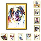 Внешний вид - Abstract Framed Oil Painting By Numbers Colorful Animals DIY Painting Home NEW