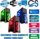 Ultimate Gaming Pc Customise Computer Intel Cpu I5 Ssd Hdd 16 Gb Ddr3 Windows 10