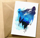 ART CARD BY ROBERT FARKAS, BLANK GREETING OR BIRTHDAY CARDS/WRAPPED