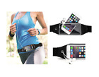 Universal Sports Waist Running Jogging GYM Belt Phone Holder (BLACK)
