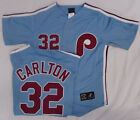 Philadelphia Phillies Steve Carlton Cooperstown Collection Throwback Jersey