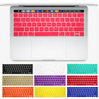 US Silicone English Keyboard Cover For Macbook Pro 13 15 Touch Bar A1706 A1707