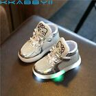 New+Brand+Hello+Kitty+Children%27s+Luminous+Sneakers+Rhinestone+Kids+LED+Flashing+