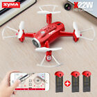 Syma X22W RC HD Camera Drone WIFI FPV Real Time Altitude Hold Quadcopter Selfie