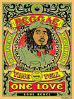 Reggae Time Will Tell - CANVAS OR PRINT WALL ART  PRINT