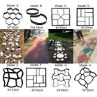 8 Shape Plastic Paving Stone Mold Concrete Driveway Stepping Pathmate Pavement   image