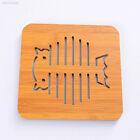 Cartoon Hollow Wooden Table Coasters Cup Pot Mat Placemat Kitchen Tool 307A